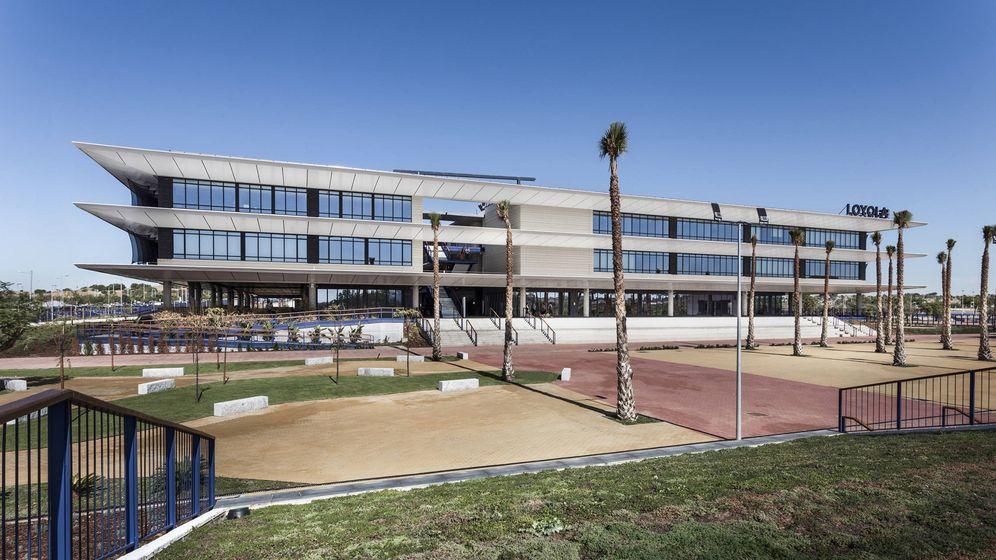 Foto: Edificio principal del nuevo campus. (Loyola)