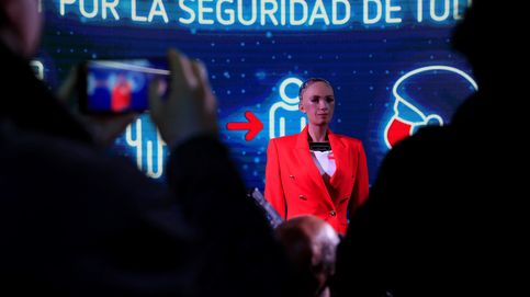 Madrid dará a conocer los datos de las elecciones con Sophia, el robot humanoide