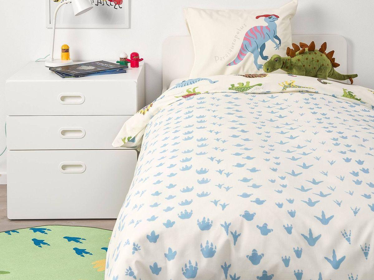 Foto: Fundas nórdicas de Ikea que encantarán a los más peques de la casa. (Cortesía)