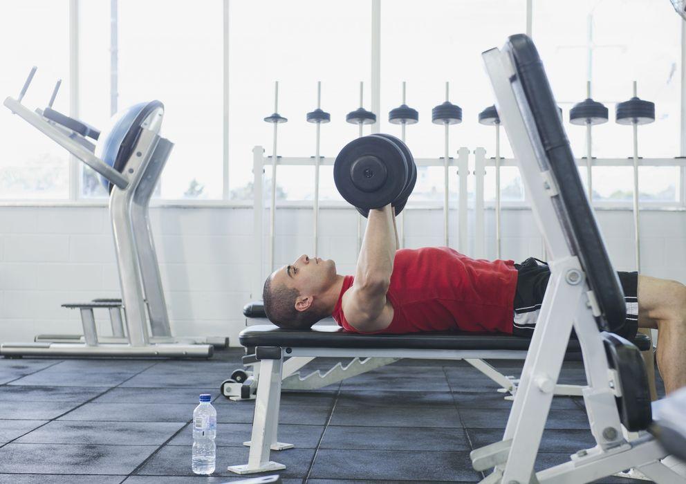 Foto: Realizar ejercicios de musculación es también importante para los corredores. (Corbis)