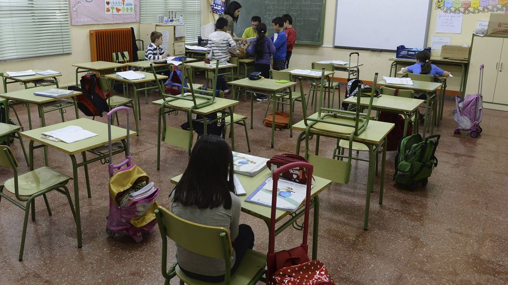 Foto: La asignatura de Religión ha incrementado su número de alumnos (EFE)