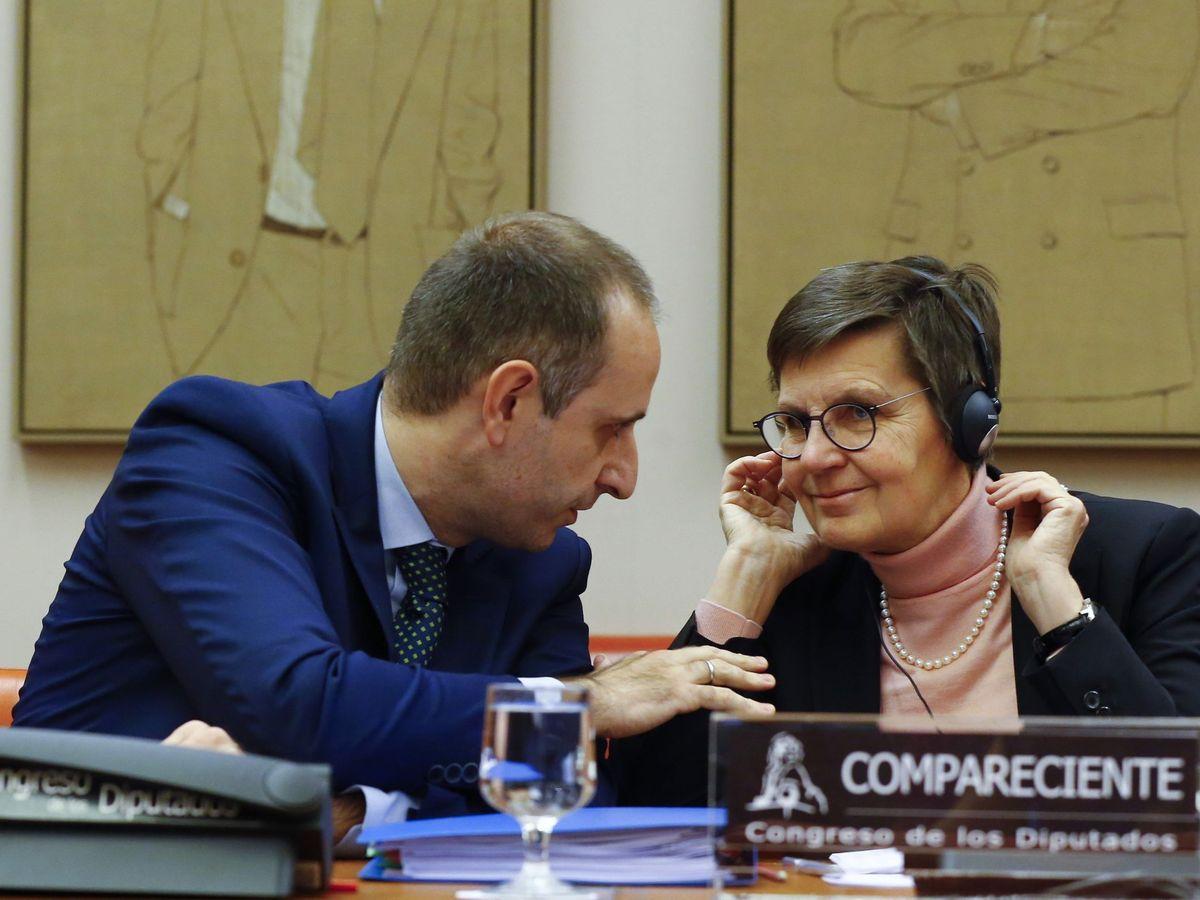 Foto: La presidenta del JUR, Elke König, en una imagen de 2017. (EFE)