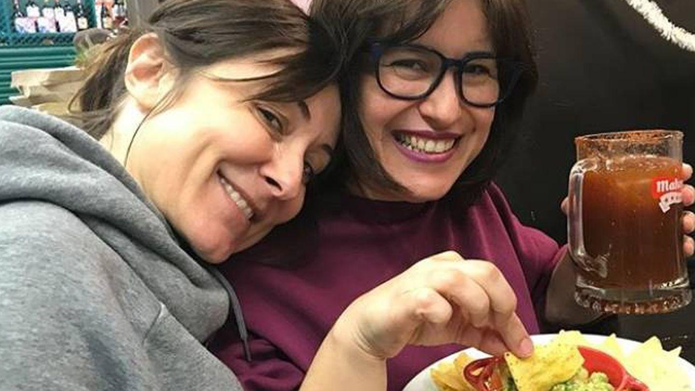 Nathalie Poza en La Tentación, en una foto de su Instagram.