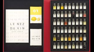 Un juego sensorial para reconocer los aromas del vino