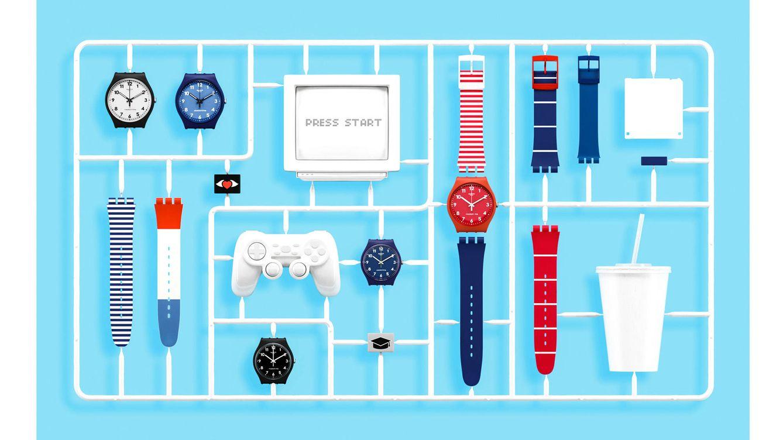 Swatch X You o cómo personalizar su propio reloj