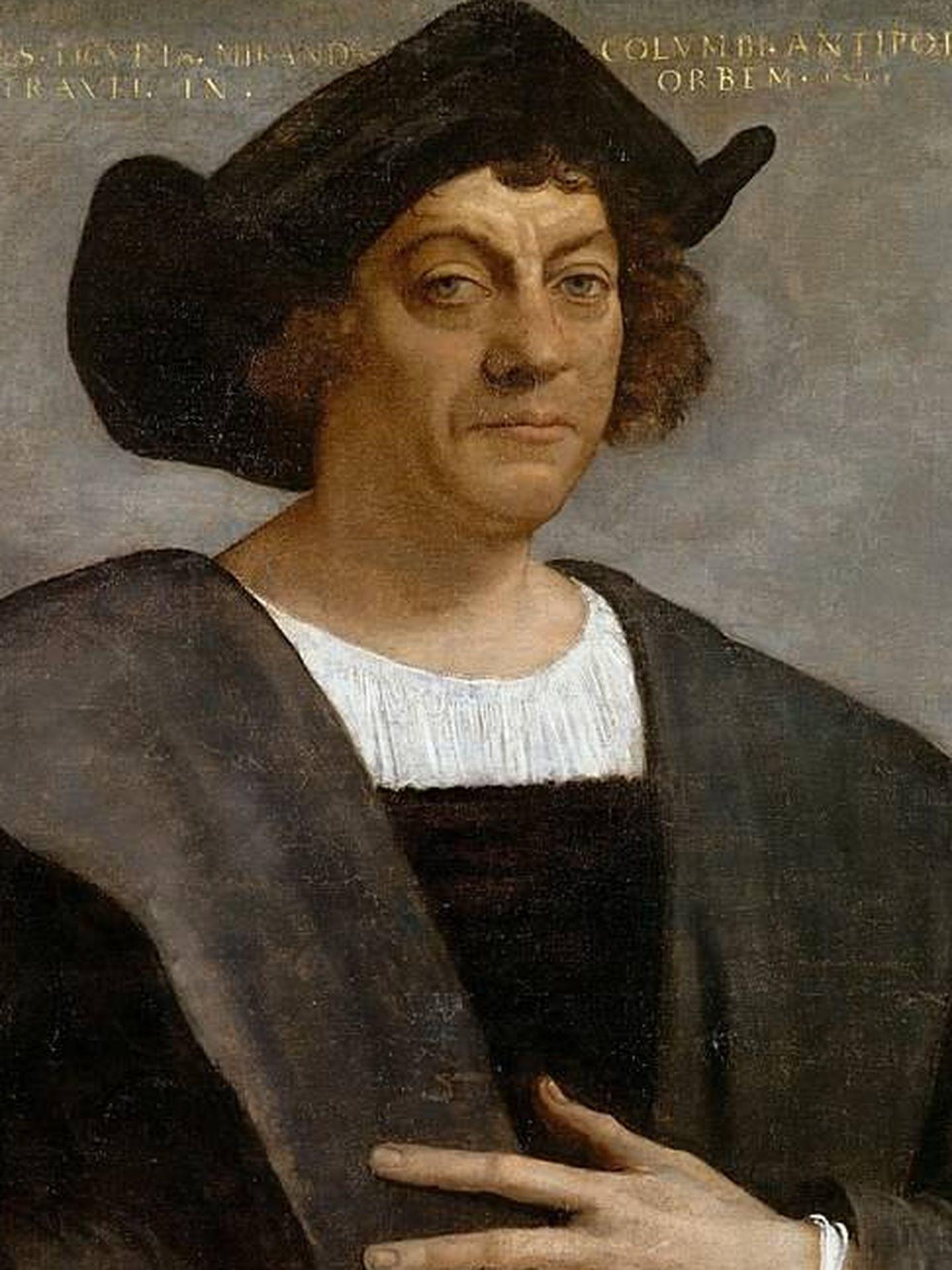 Cristóbal Colón (Sebastiano del Piombo, 1519)