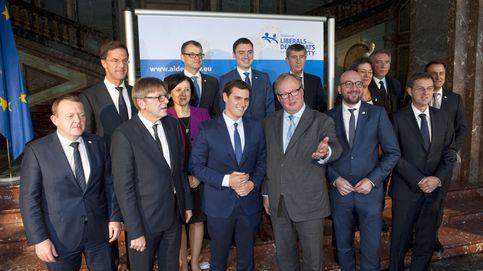Ciudadanos desplaza a CIU en el liberalismo europeo