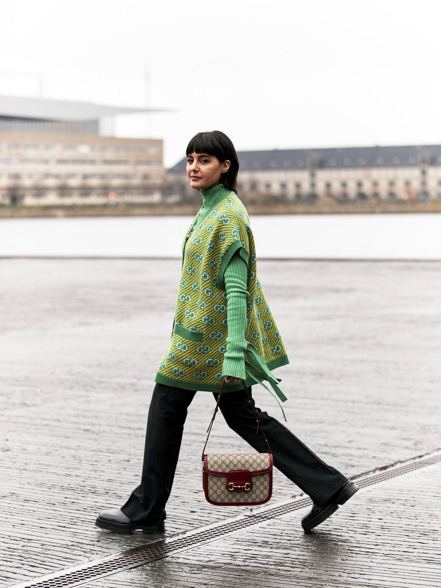 Siente el poder fashionista del verde. (Imaxtree)