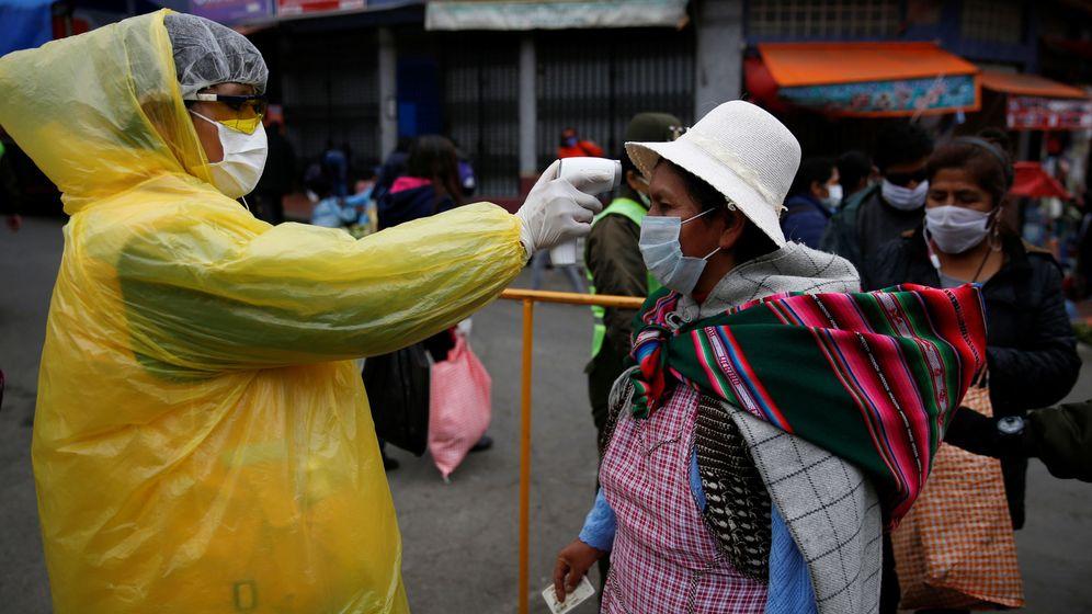 Foto: Control en La Paz (Bolivia) (Reuters)