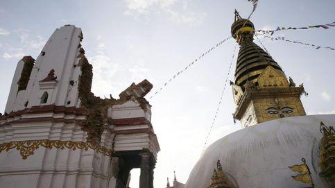Diez joyas del patrimonio convertidas en ruinas tras el terremoto en Nepal