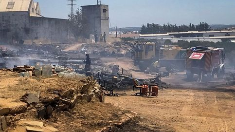 Un nuevo incendio arrasa un campamento de temporeros en Lepe (Huelva)