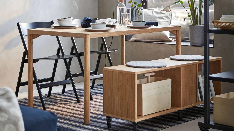 Esta colección de Ikea se adapta a tu salón aunque sea pequeño. (Cortesía)