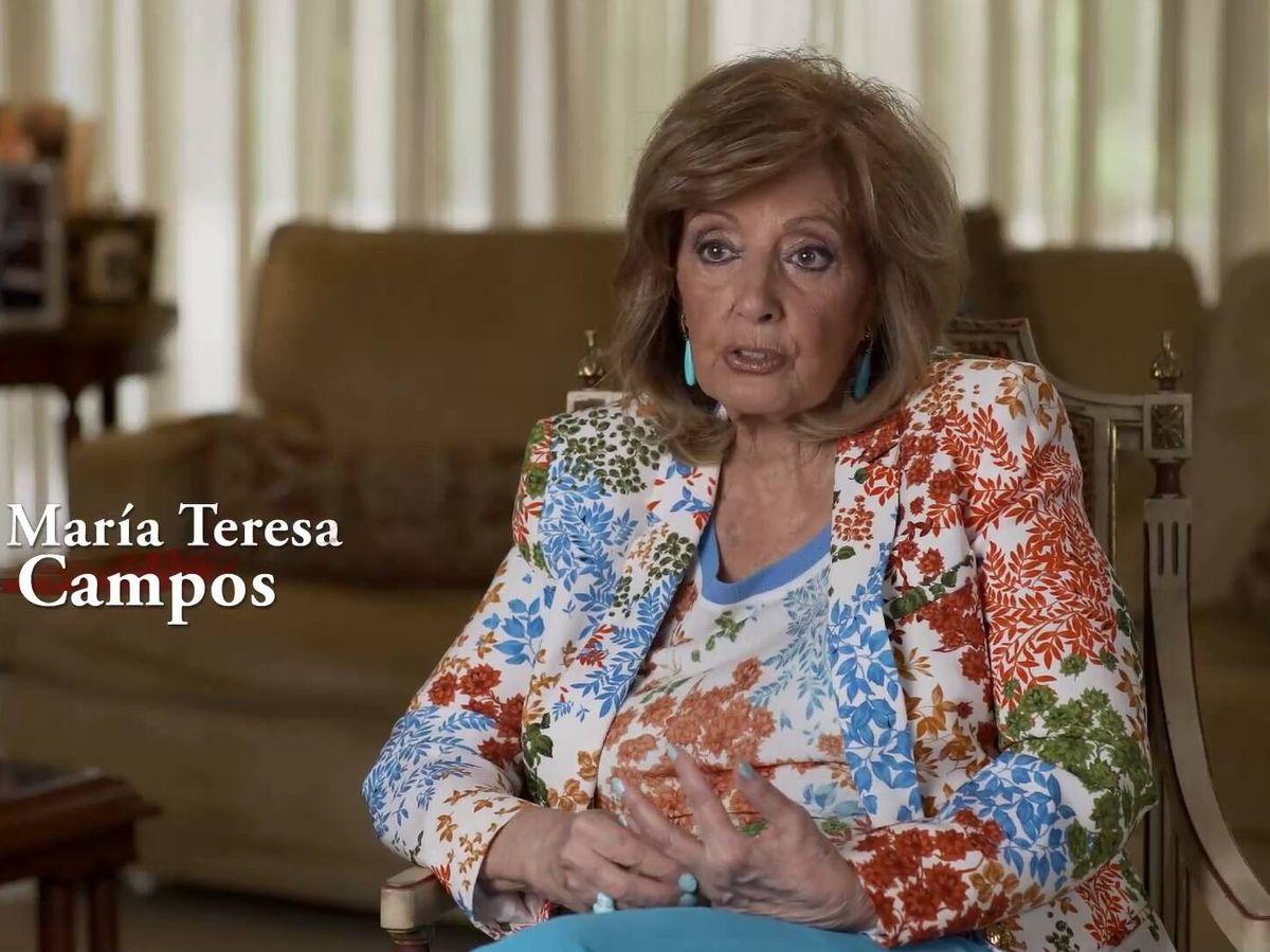 Foto: María Teresa Campos, en 'Lazos de sangre'. (TVE)