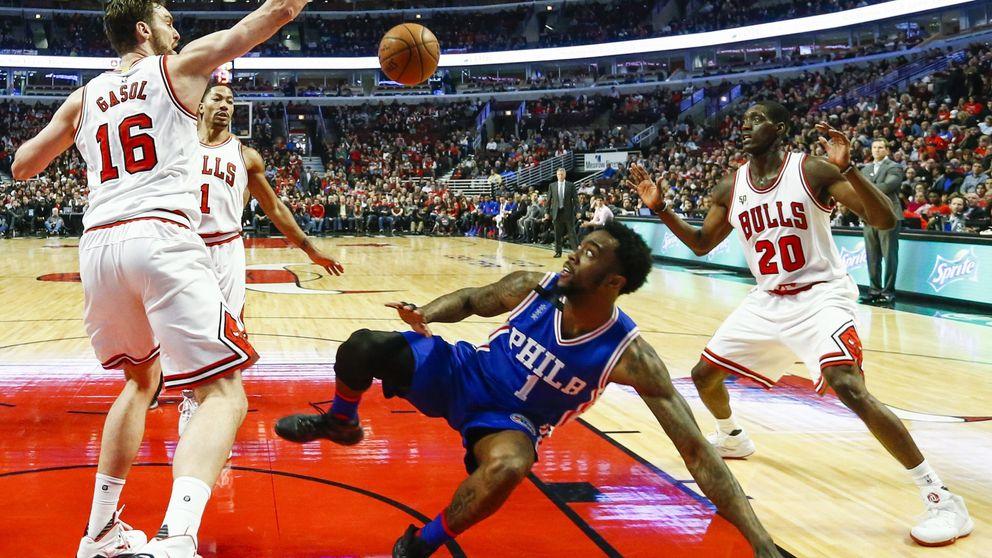 Mirotic tira de galones para dar oxígeno a Gasol frente al peor equipo de la NBA