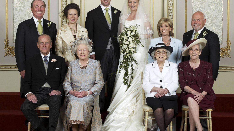 Peter Phillips y Autumn Kelly, el día de su boda. (Cordon Press)