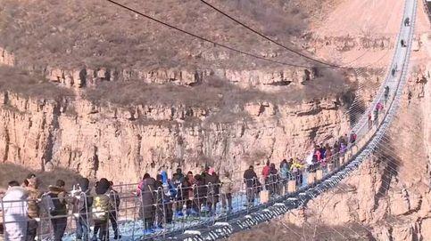 Así es el puente de cristal más grande del mundo: 488 m de largo y 4 cm de grosor