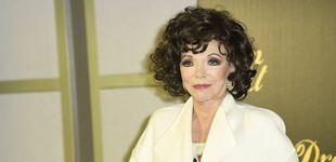 Post de Joan Collins ('Dinastía'), en un cónclave de estrellas en Madrid: sus pasos por la capital