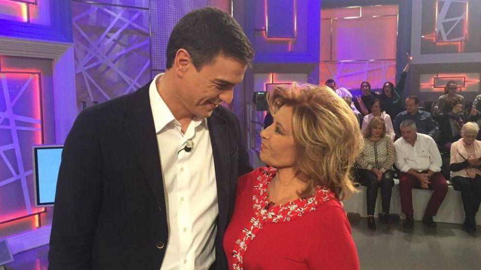 Pedro Sánchez la lía en Twitter al mandar buenos deseos a María Teresa Campos