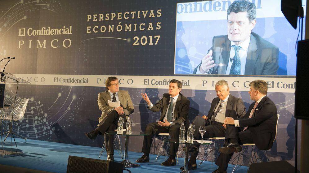 Foto: Jaime Echegoyen, presidente de Sareb, en el Foro de Perspectivas Económicas de El Confidencial y Pimco.