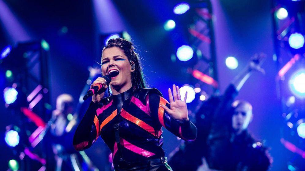 Foto: Saara Aalto representará a Finlandia en Eurovisión 2018 con 'Monsters'. (Eurovision.tv)