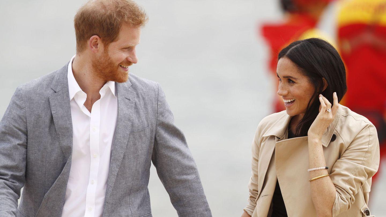 La pareja, durante el viaje a Australia que hicieron en 2018. (EFE)