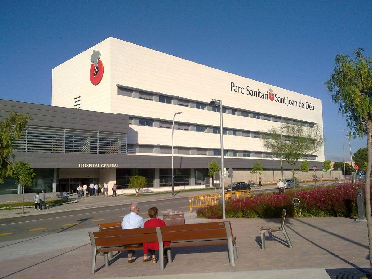 Foto: Vista del hospital. (Ayuntamiento de Torrelles de Llobregat)