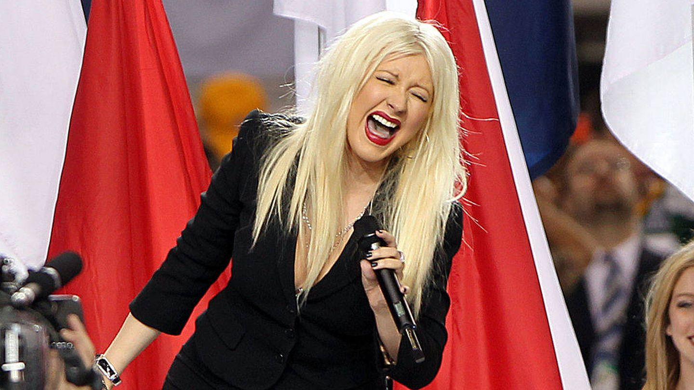 Christina Aguilera. (Getty)
