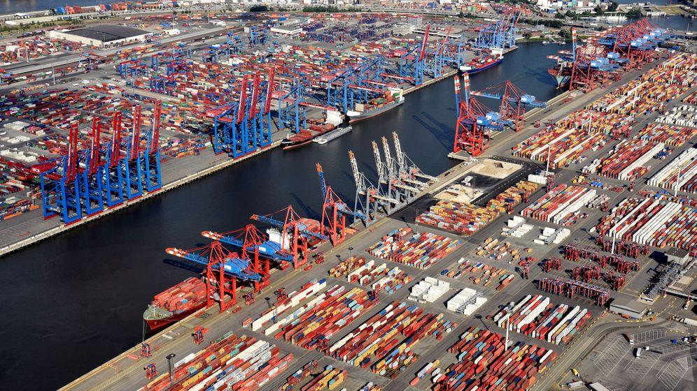 Foto: Un puerto de exportaciones. (Reuters)
