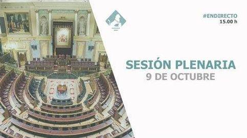 Siga en directo el pleno del Congreso de los Diputados