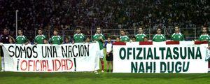 La política da una patada al fútbol vasco