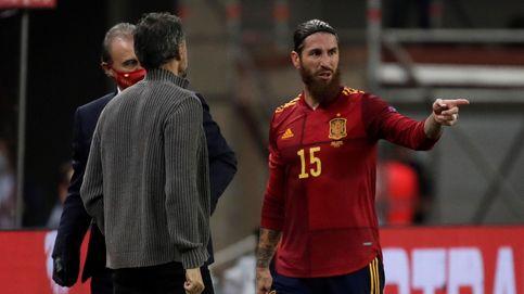 Sainete Ramos: con Luis Enrique es más fácil jugar con España que con Andorra