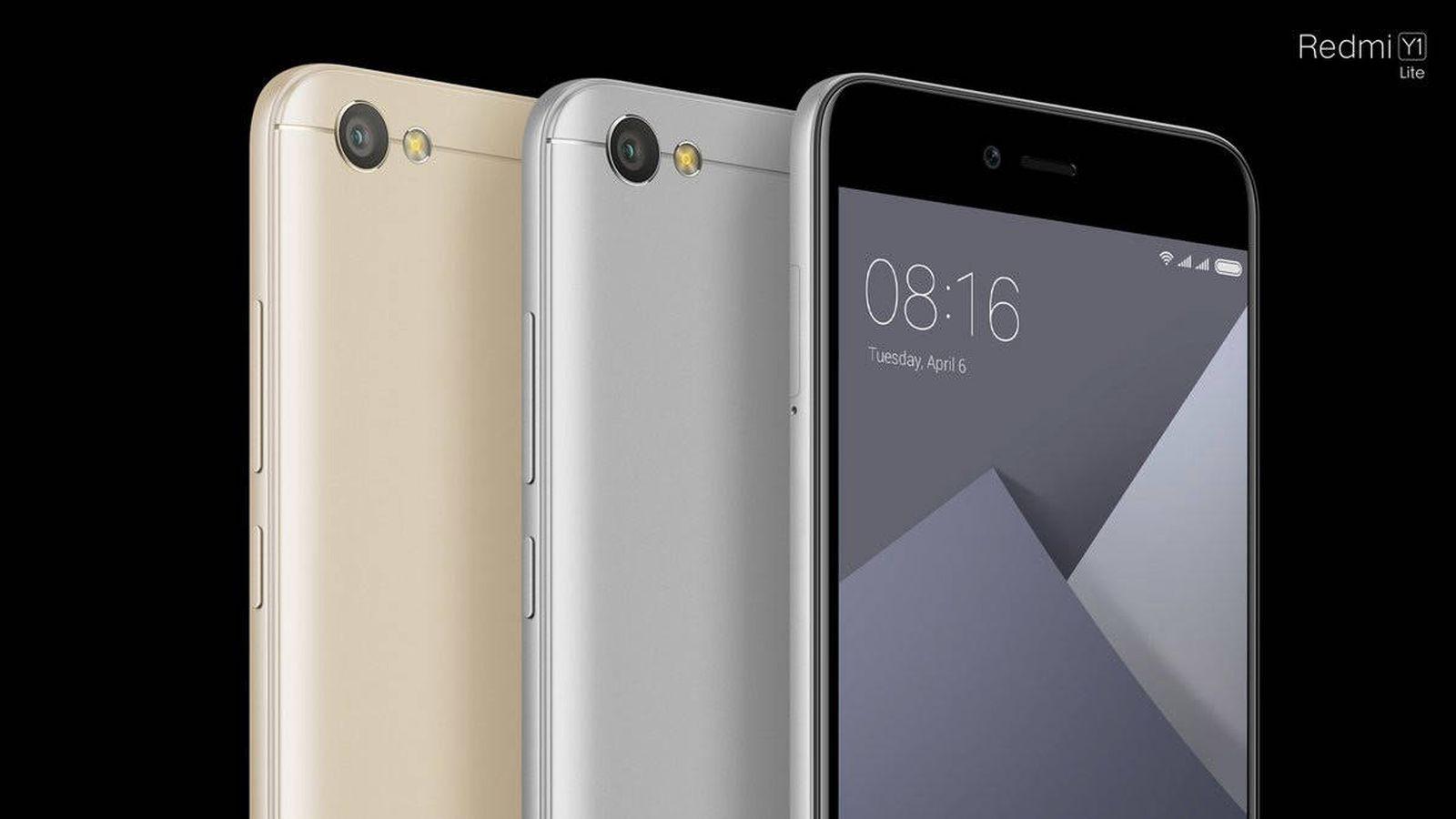 Foto: Nuevo Redmi Y1. (Xiaomi)