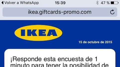 Oleada de estafas: Ikea no regala 150 euros y no hay una oferta de Ray Ban