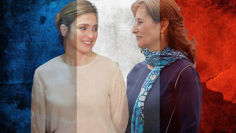 Foto: La 'reina invisible' Julie Gayet y la 'visible' Ségolène Royal (Vanitatis)