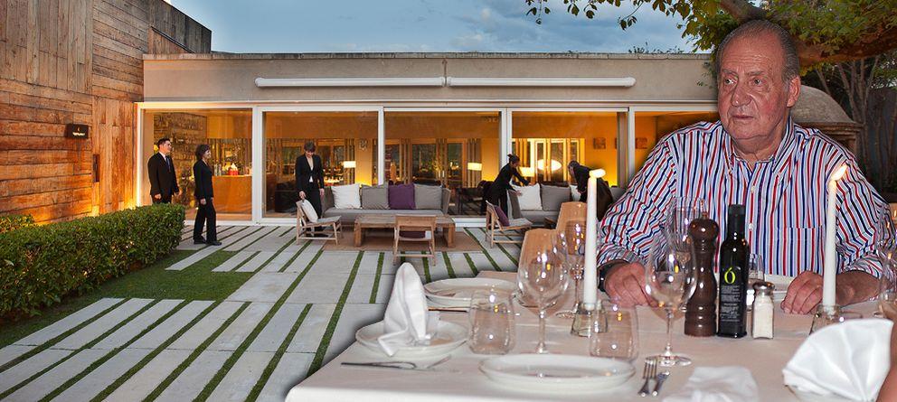 Foto: Composición fotográfica con el restaurante El Celler de Can Roca de fondo