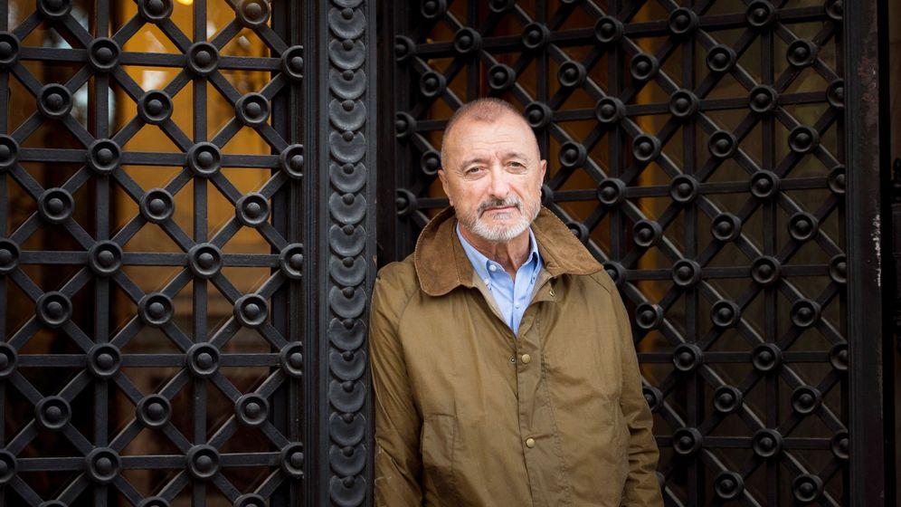 Foto: Arturo Pérez-Reverte ha presentado 'Sidi' en Madrid. (Efe)