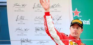 Post de Raikkonen, o pilotar como nunca para terminar como siempre con Vettel