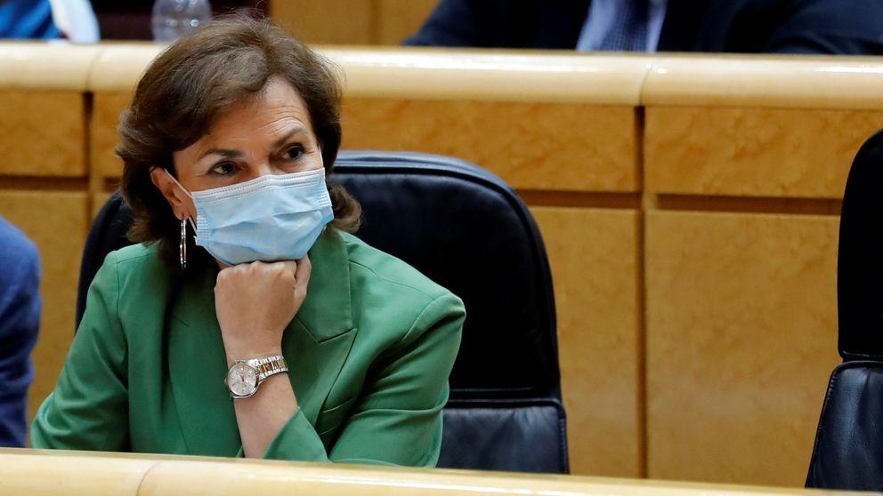 Carmen Calvo, sobre la ausencia del Rey en Barcelona: Hay decisiones bien tomadas