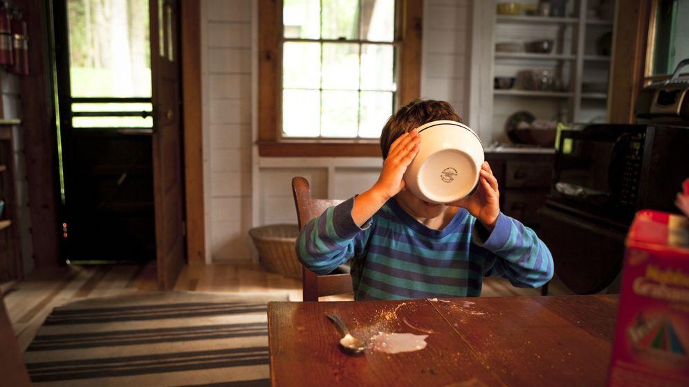 Foto: ¿Desayuna de manera equilibrada su hijo? (Corbis)