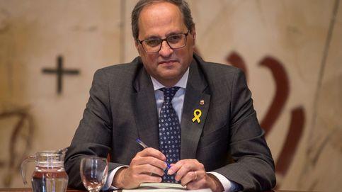 Fiscalía contra Torra: se negó a quitar los lazos consciente y deliberadamente