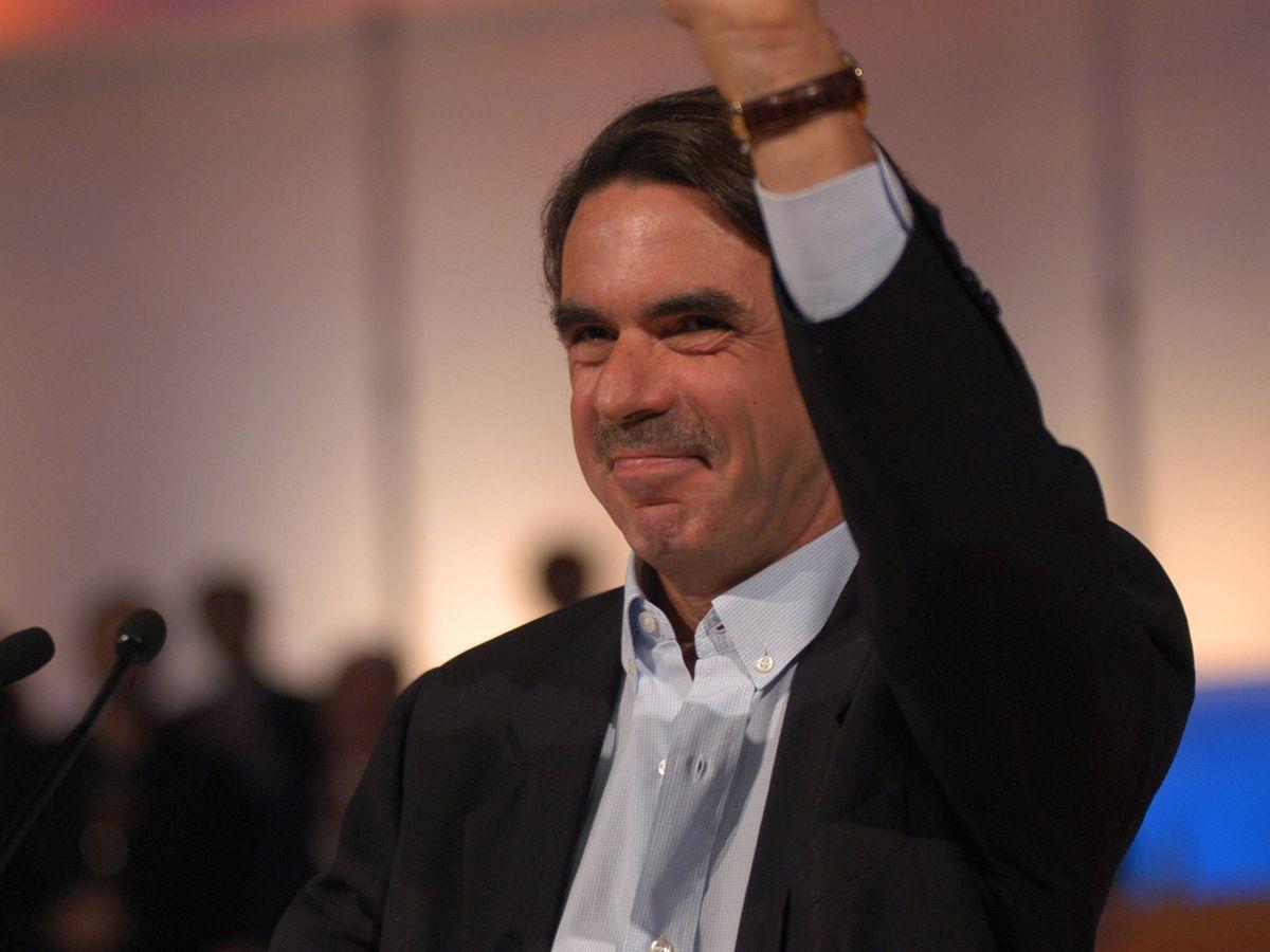 Foto: José María Aznar, en una imagen de archivo. (Cordon Press)
