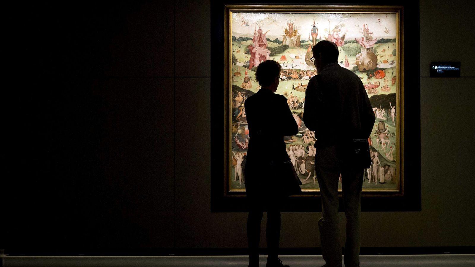 Foto: Exposición del pintor en Holanda inaugurada hace unos días (EFE)