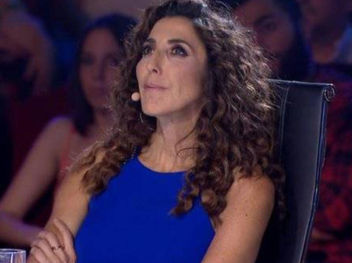 Foto: Paz Padilla, en 'Got Talent'. (Telecinco)