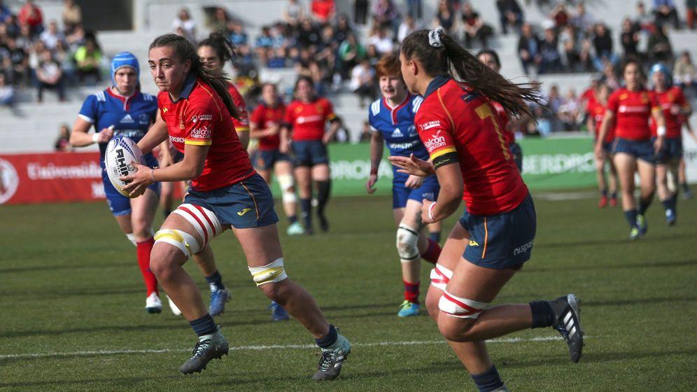 Foto: La Selección española femenino, durante un partido en Madrid del Campeonato de Europa. (EFE)