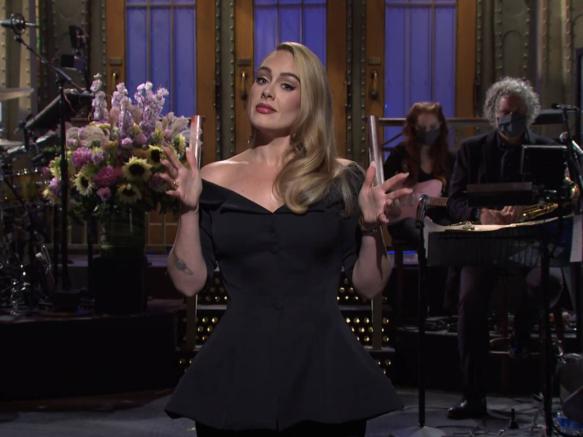 Foto:  Adele, en 'Saturday Night Live'. (NBC)