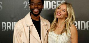 Post de El celebrado gesto de Chadwick Boseman: donó parte de su salario a Siena Miller