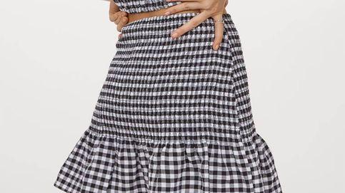 La falda más cómoda y ponible de la temporada es de H&M