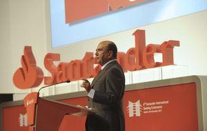 Santander vende un 0,27% de autocartera por 180 millones