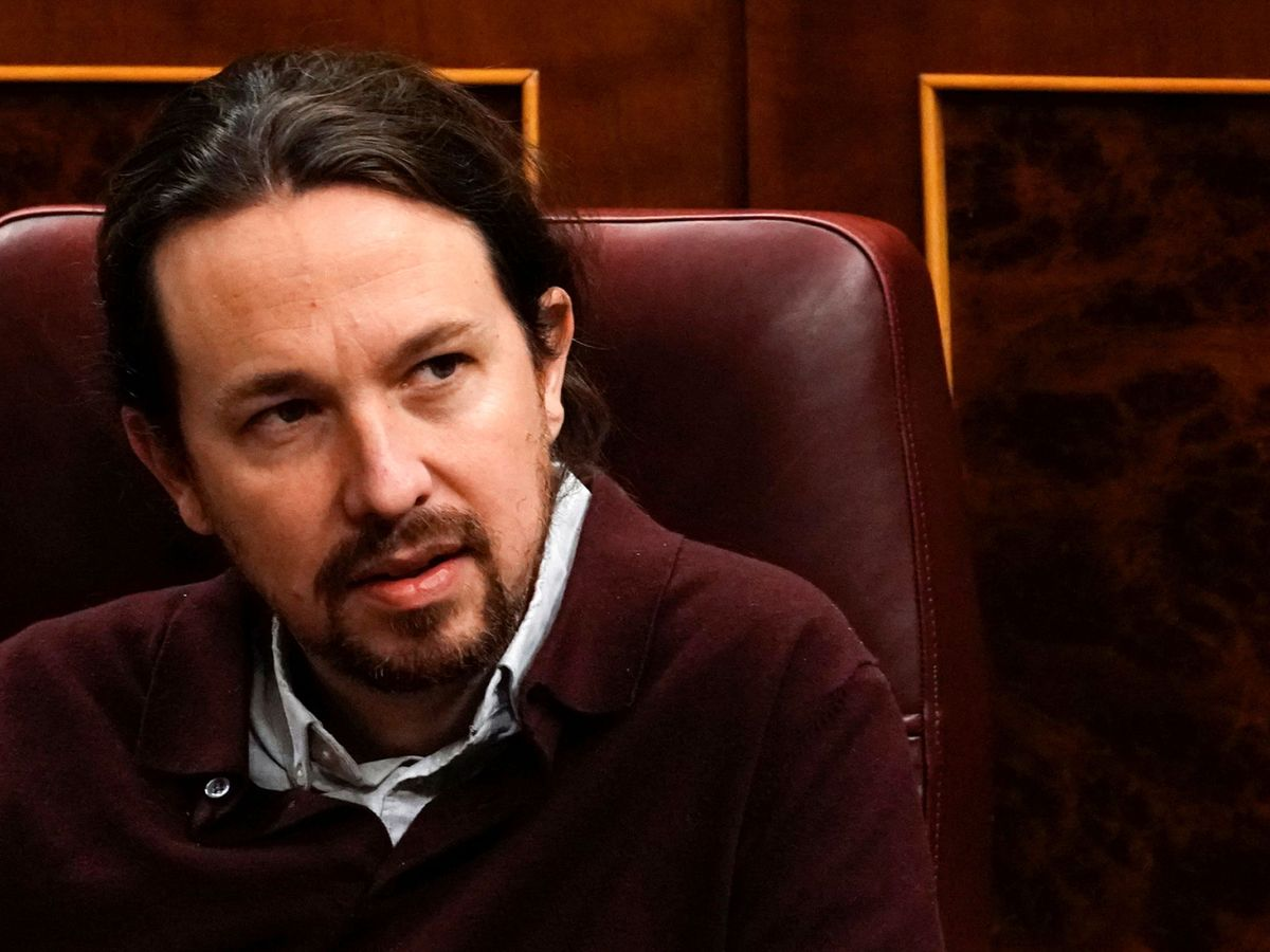 Foto: El líder de Podemos, Pablo Iglesias, en el Congreso. (Reuters)