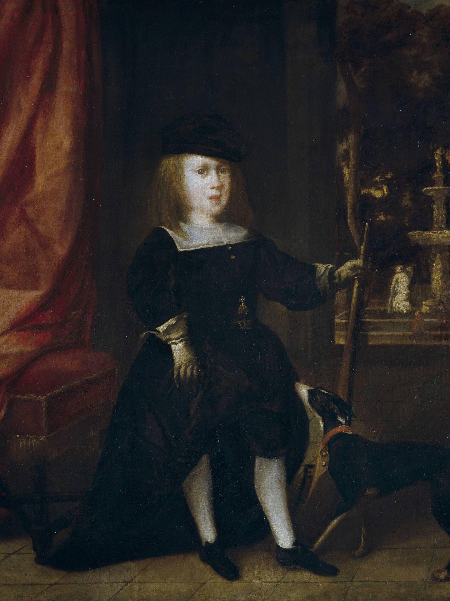 Retrato de Carlos II como niño. (Museo del Prado)